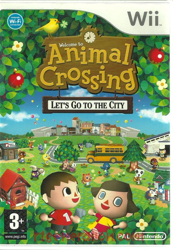 Animal Crossing: Let's Go To The City Box Front