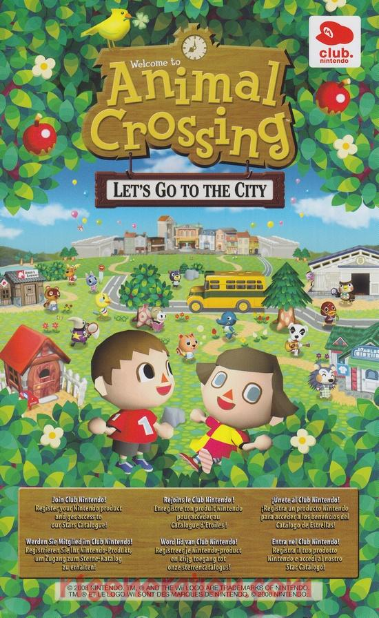 Animal Crossing: Let's Go To The City In-Game Screen