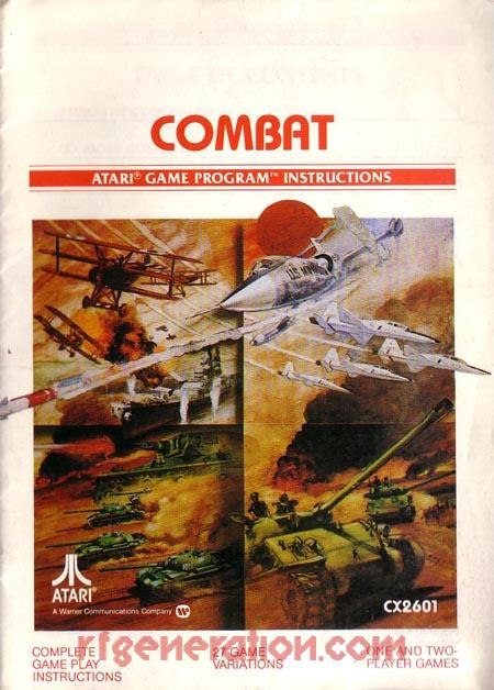 Combat <sup>[Picture Label]</sup> Manual Scan