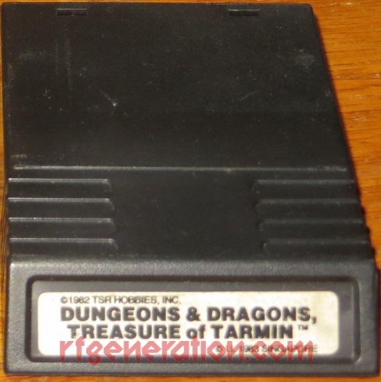 Advanced Dungeons & Dragons: The Treasure of Tarmin <sup>[White Label]</sup> Game Scan
