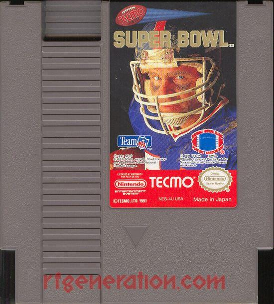 Tecmo Super Bowl Game Scan