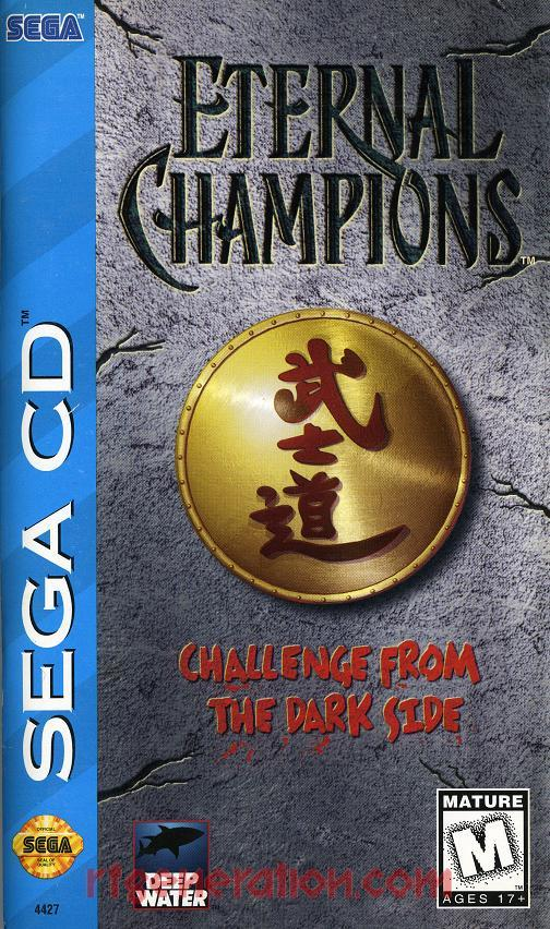 Eternal Champions: Challenge from the Dark Side Manual Scan