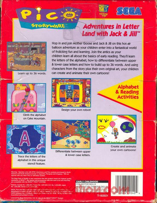 RF Generation: Adventures in Letter Land with Jack & Jill