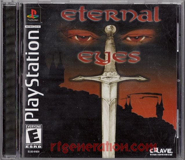 Eternal Eyes Box Front