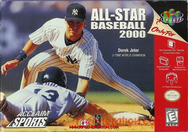 All-Star Baseball 2000 Box Front