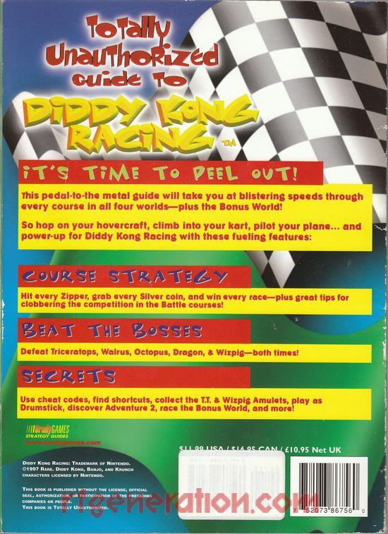Diddy Kong Racing <sup>[Players Choice Million Seller]</sup> In-Game Screen
