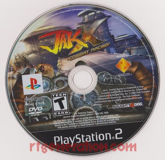 Jak X: Combat Racing Game Scan