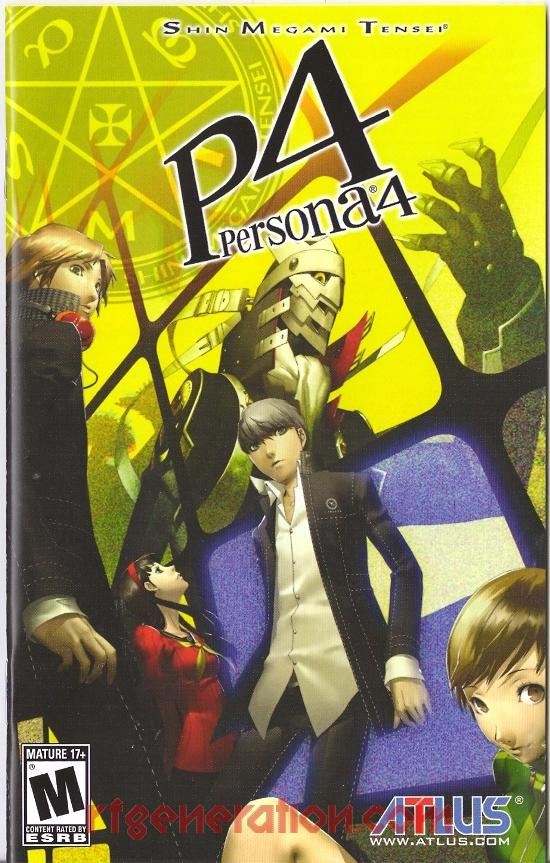 Persona 4 Golden Strategy Guide Pdf