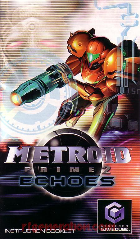 Metroid Prime 2: Echoes Manual Scan
