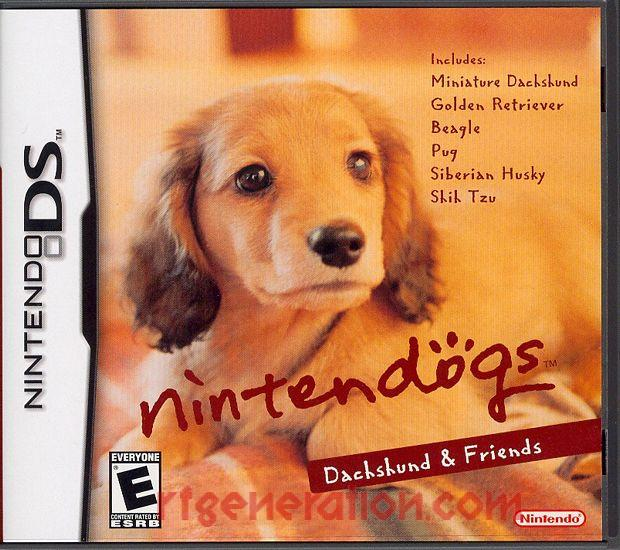 Nintendogs: Dachshund & Friends Box Front