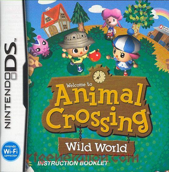 Animal Crossing: Wild World Manual Scan