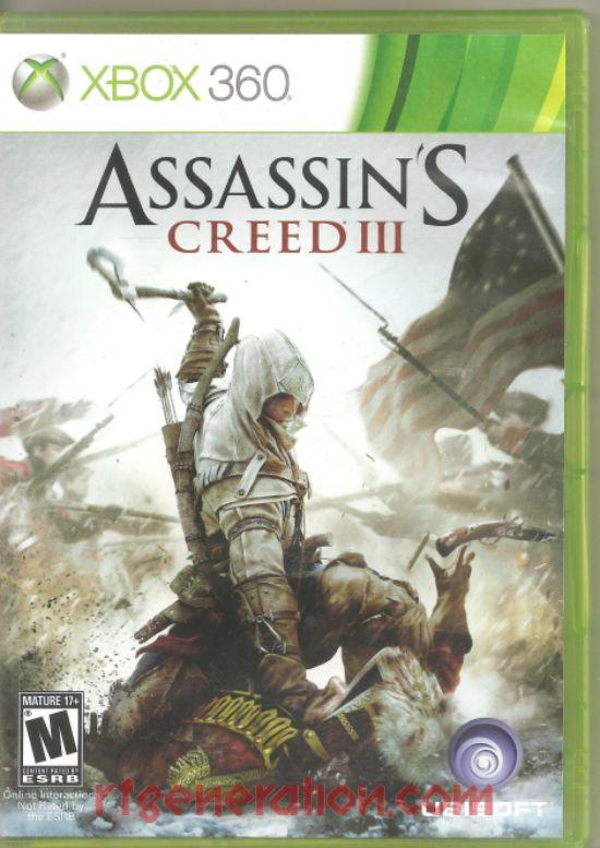 Assassin's Creed III Box Front