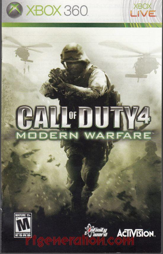 Call of Duty 4: Modern Warfare <sup>[Game of the Year Edition]</sup> Manual Scan