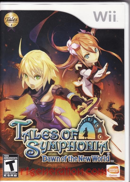 Tales of Symphonia: Dawn of the New World Box Front